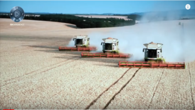 CLAAS Greenhouse - Harvest Faster with Digital Ideas - Dassault Systèmes